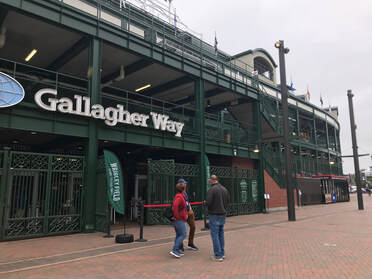 Gallagher Way entrance